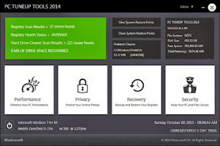 Madcrosoft PC TuneUp Tools 2014 v8.1.004 Include laxity