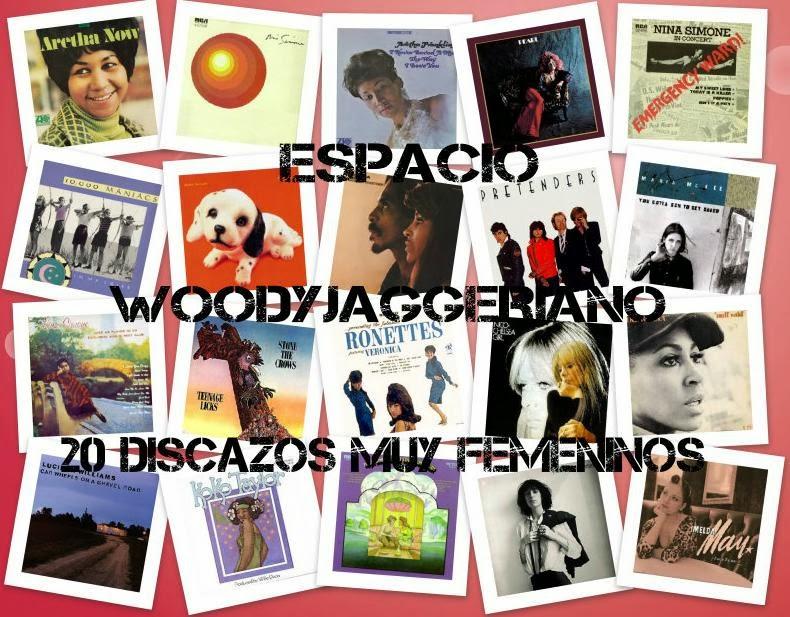 20 mejores discos femeninos en el Espacio Woodyjaggeriano hacia el Exilio