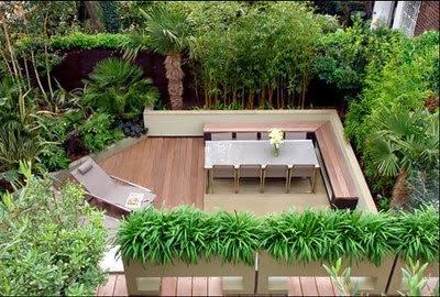 taman rumah indah
