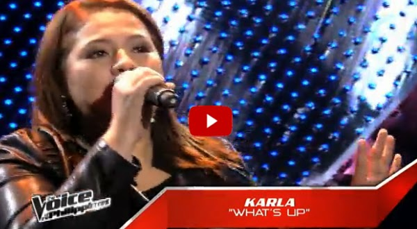 Watch: Karla Estrada's The Voice PH blind aution