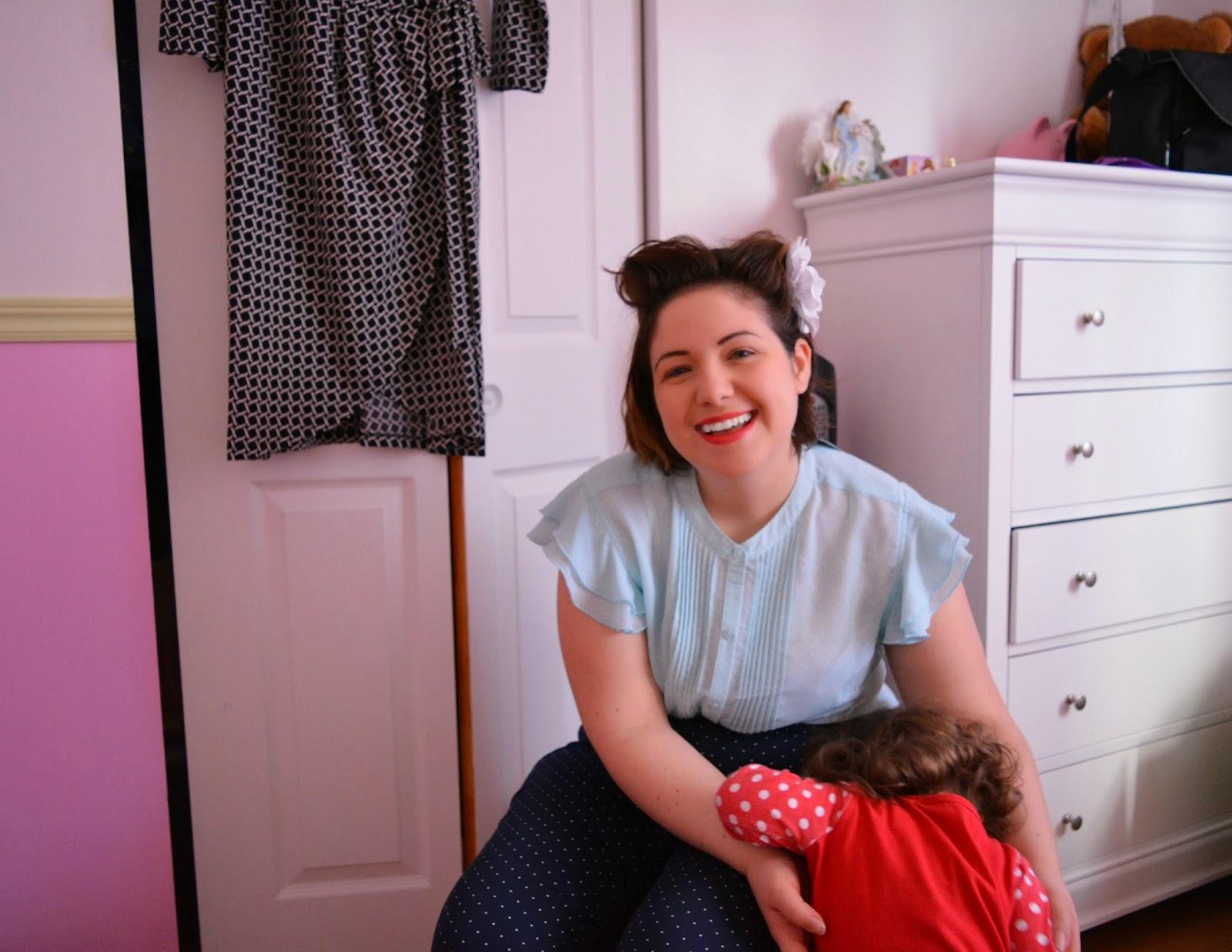 Mon maquillage Cover Girl et Olay #MamanPG pour le défi #ABCduprintemps
