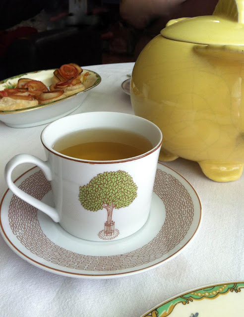 an herbal tea party - recipes and ideas at ponyboypress.com