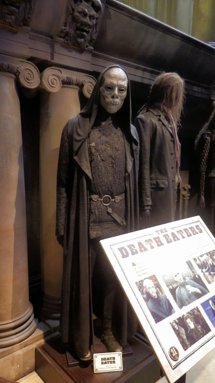 Harry Potter Warner Brothers Studio Tour London The Death Eaters