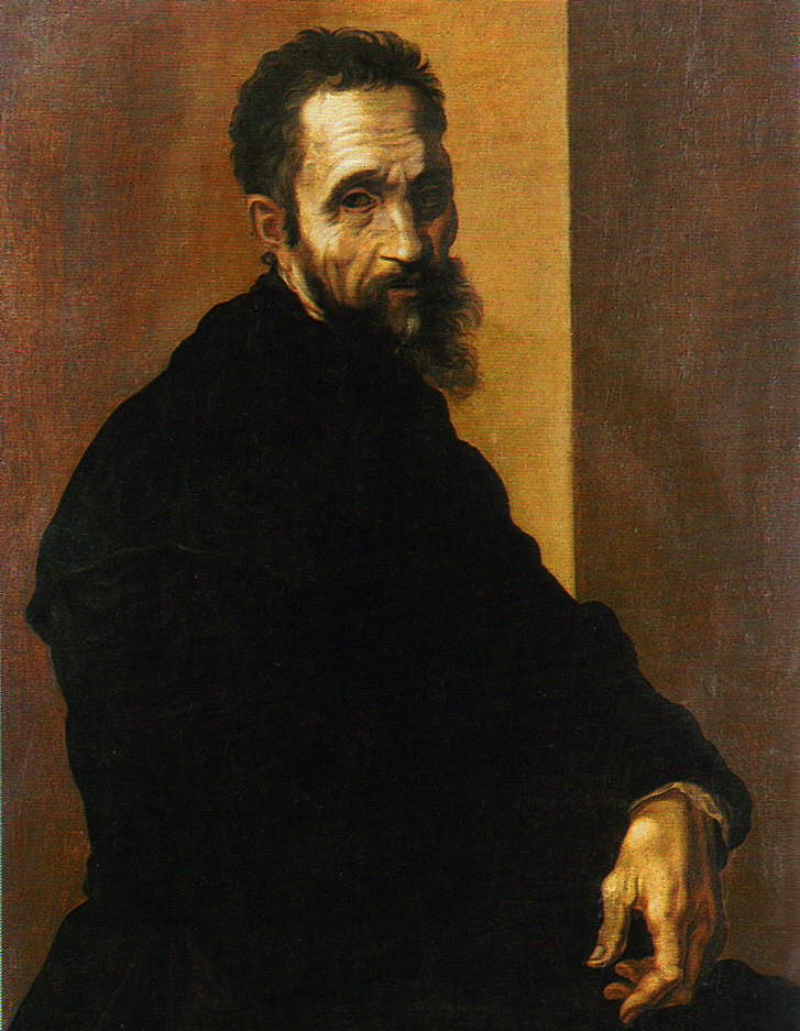 Michelangelo Buonarroti by Jacopino del Conte c. 1535. Photo: WikiMedia.org.