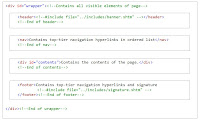 Commented HTML5 of  Wrapper Model