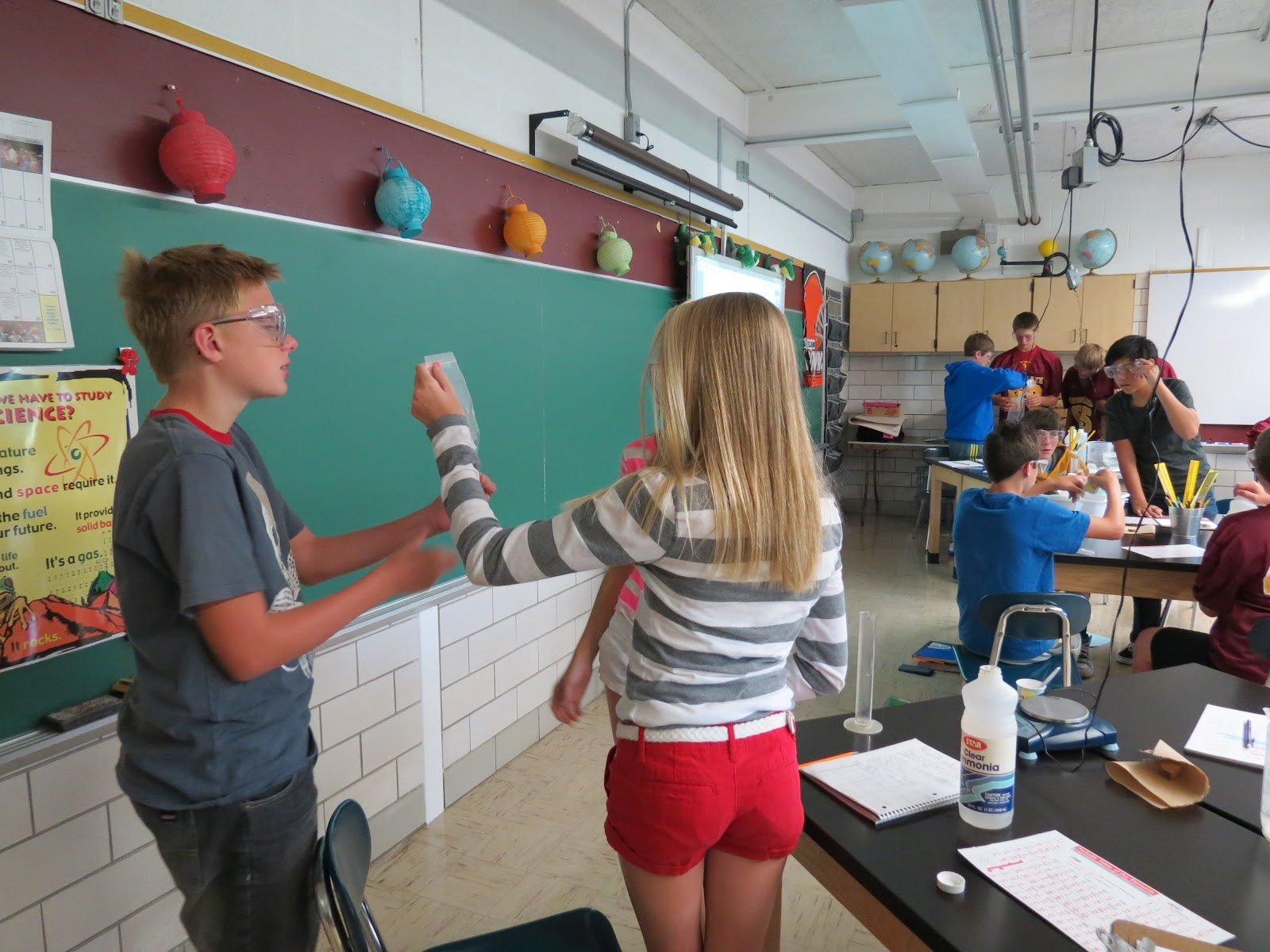 Mrs Cheneys 8th Grade Science Class 2 3