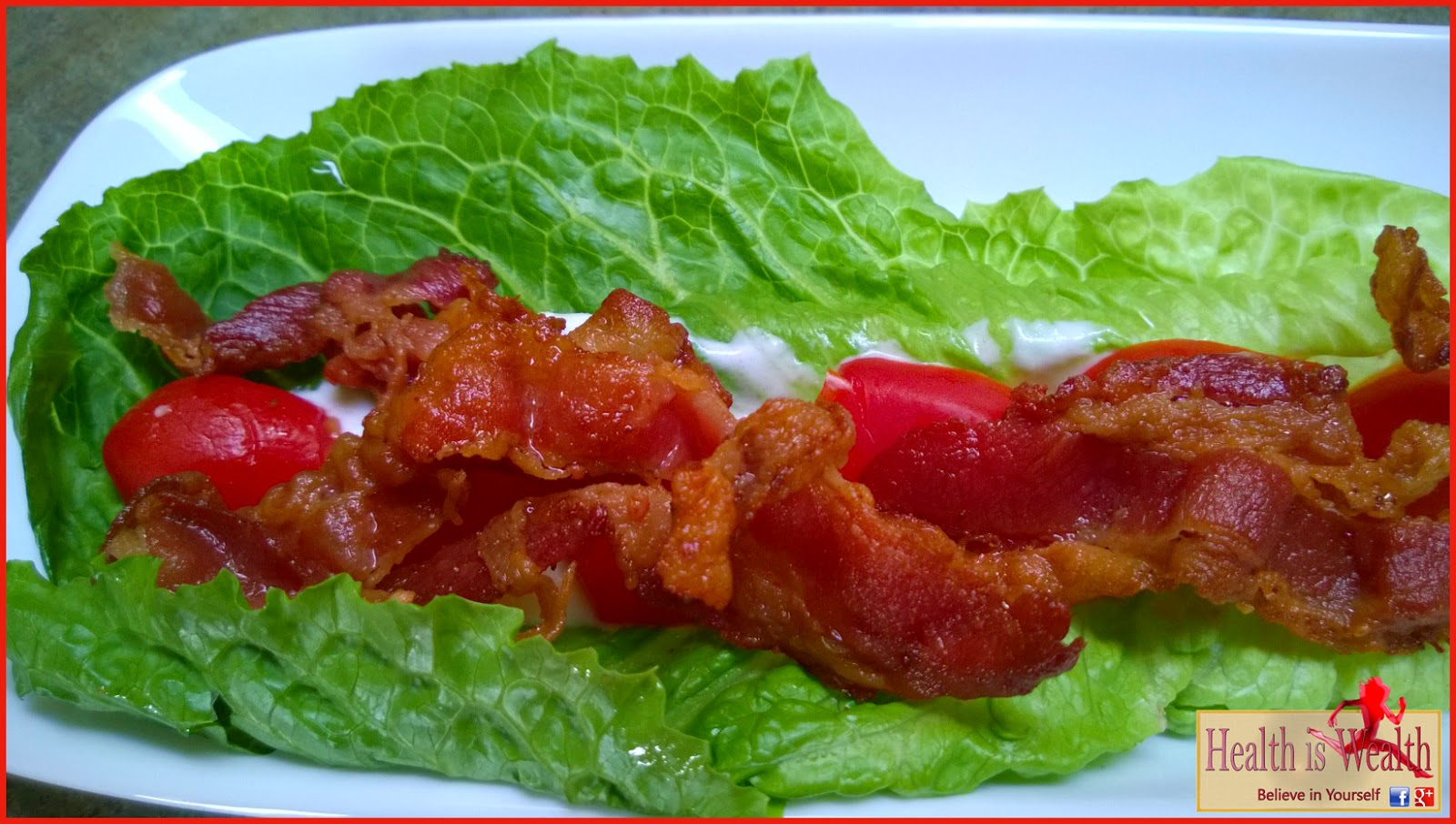 Strong and Beyond: BLT Lettuce Wraps