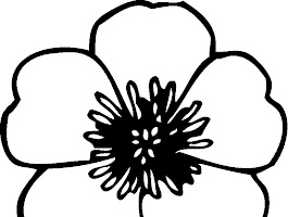 Hawaiian Flowers Coloring Pages Free