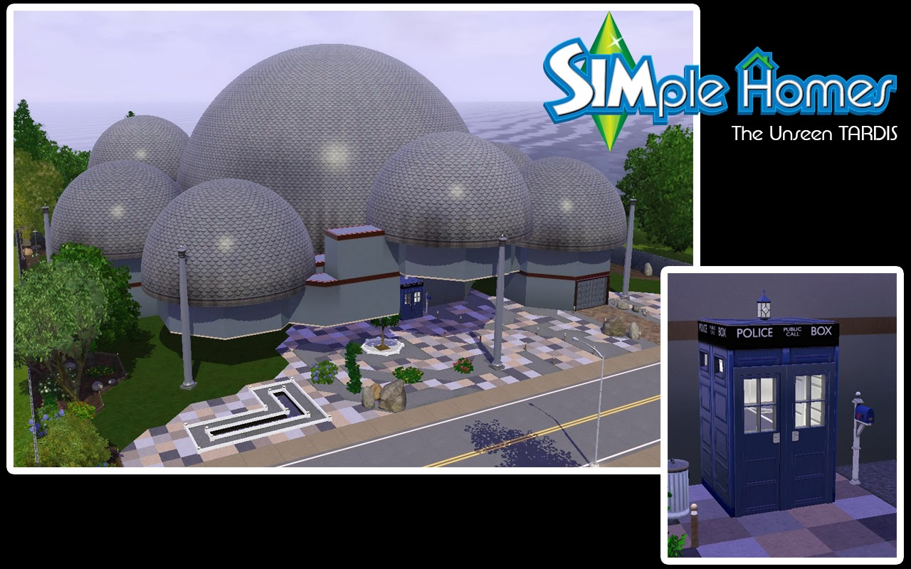 simple homes the unseen tardis by simple homes sims 3 here at simple homes we know that other creators and lot builders have created the doctor s tardis time and relative dimension in space in many forms