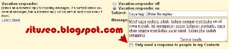 Pesan Email Balasan Otomatis di Gmail