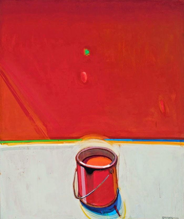 Раймонд Стапранс, отец абстрактного реализма