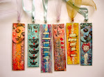 Mixed Media Book Marks, Embellishments and Tags recycling!