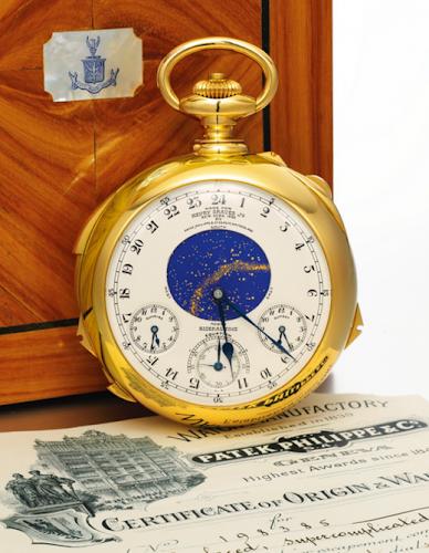 Supercomplication:o relógio mais impressionante do mundo