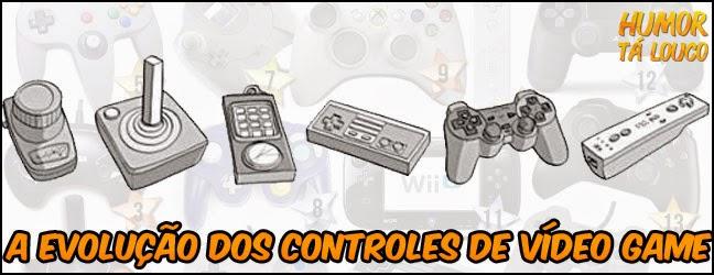 Evolução dos controles de vídeo-games