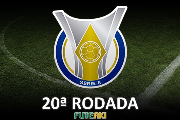 Veja o resumo da 20ª rodada do Brasileirão 2015, com vídeos dos gols e melhores momentos de cada partida.