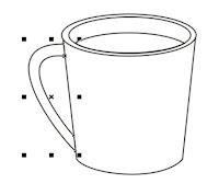 Cara Menggambar Objek Gelas Dengan Coreldraw