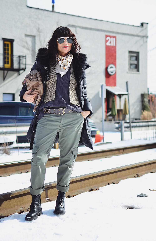 Cargo pants street style