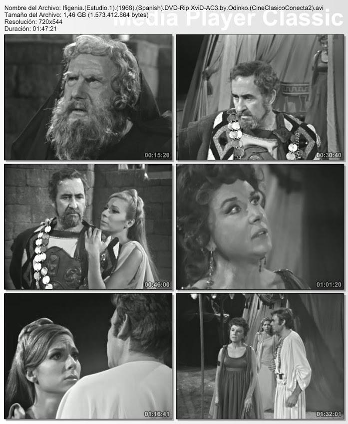 Ifigenia 1968 | Gran teatro Estudio 1 | Capturas de pantalla | Obra de teatro