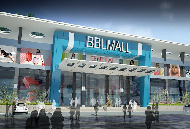 3d Architectural View of Mall,3d architectural design