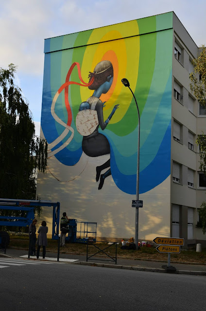 Street Art By Seth In Rennes, France For Teenage Kicks Urban Art Festival. 3