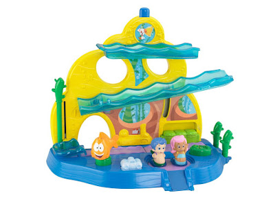 TOYS : JUGUETES - Bubble Guppies Colegio submarino | Swim-sational School Mattel - Fisher-Price - Nickelodeon | A partir de 18 meses Comprar en Amazon España & buy Amazon USA