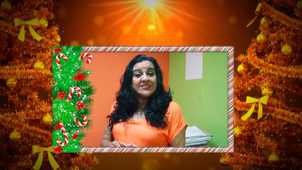 Saludo de navidad y año nuevo 2019