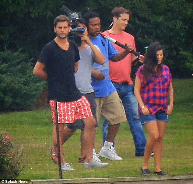 Scott Disick in Hamptons July 2014