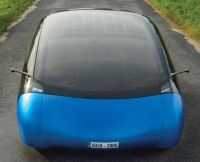 laurel, solar electric car, solar panels, solar cells, solar car