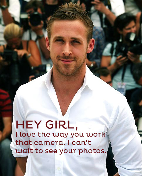 Ryan Gosling Hey Girl Just*Grand: Hey Girl.