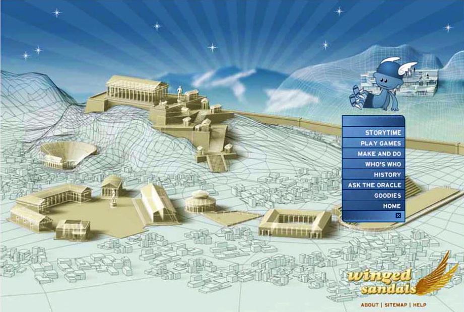 WINGED SANDALS: A TOUR OF GREEK MYTHOLOGY