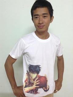 Chuyên áo in truyện tranh Nhật Bản, áo in Manga, áo in Slam Dunk giá tốt - 4