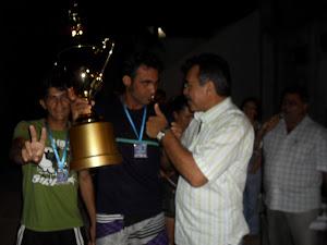 Entrega do Troféu de Campeão - Brasília