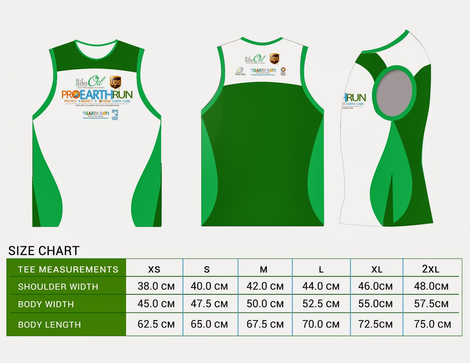 Pro Earth Run Singlet