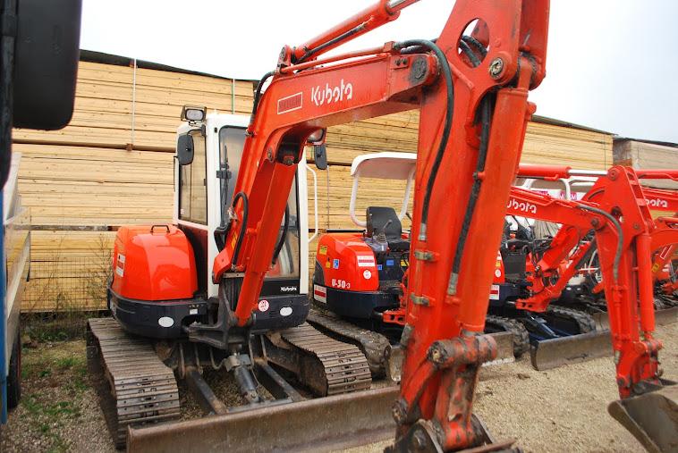 13 maggio 2012 Escavatore Kubota