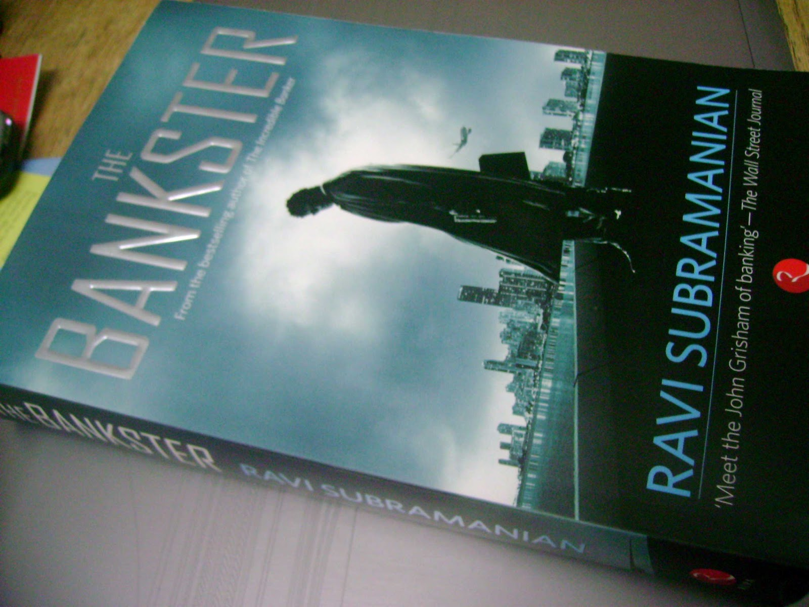 The Bankster by Ravi Subramanian Book Review