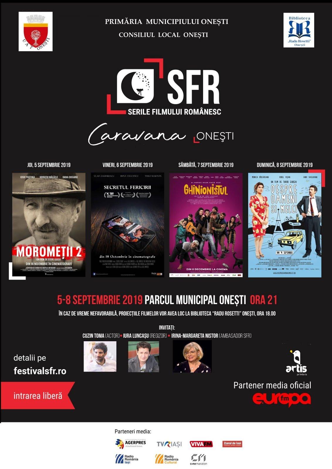Serile Filmului Romanesc La Onesti