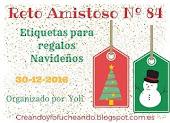 RETO AMISTOSO 84