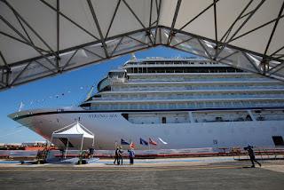 "Fincantieri: varata ad Ancona ""Viking Sea"""