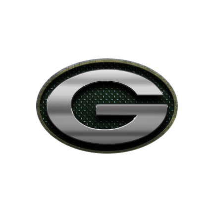 Green Bay Packers, metal, logo, re-imagined