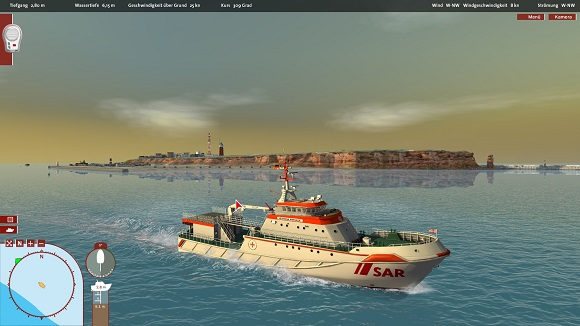 ship simulator maritime search (and,furthermore) rescue