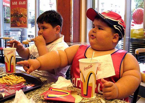 fat kids fast food