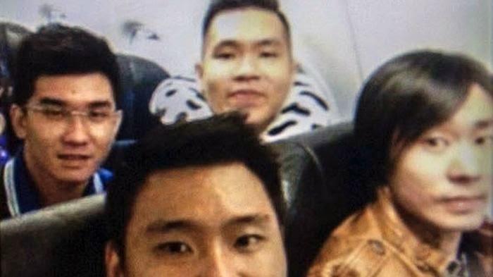 Foto Selfie Terakhir Penumpang AirAsia QZ8501