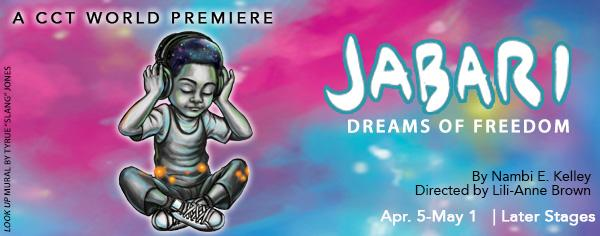 Congrats Martha C. You WON 4 tixs to the World Premiere of JABARI DREAMS OF FREEDOM  ($120 value)