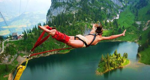 Pessoas fantásticas em momentos de GRANDE adrenalina (vídeo)