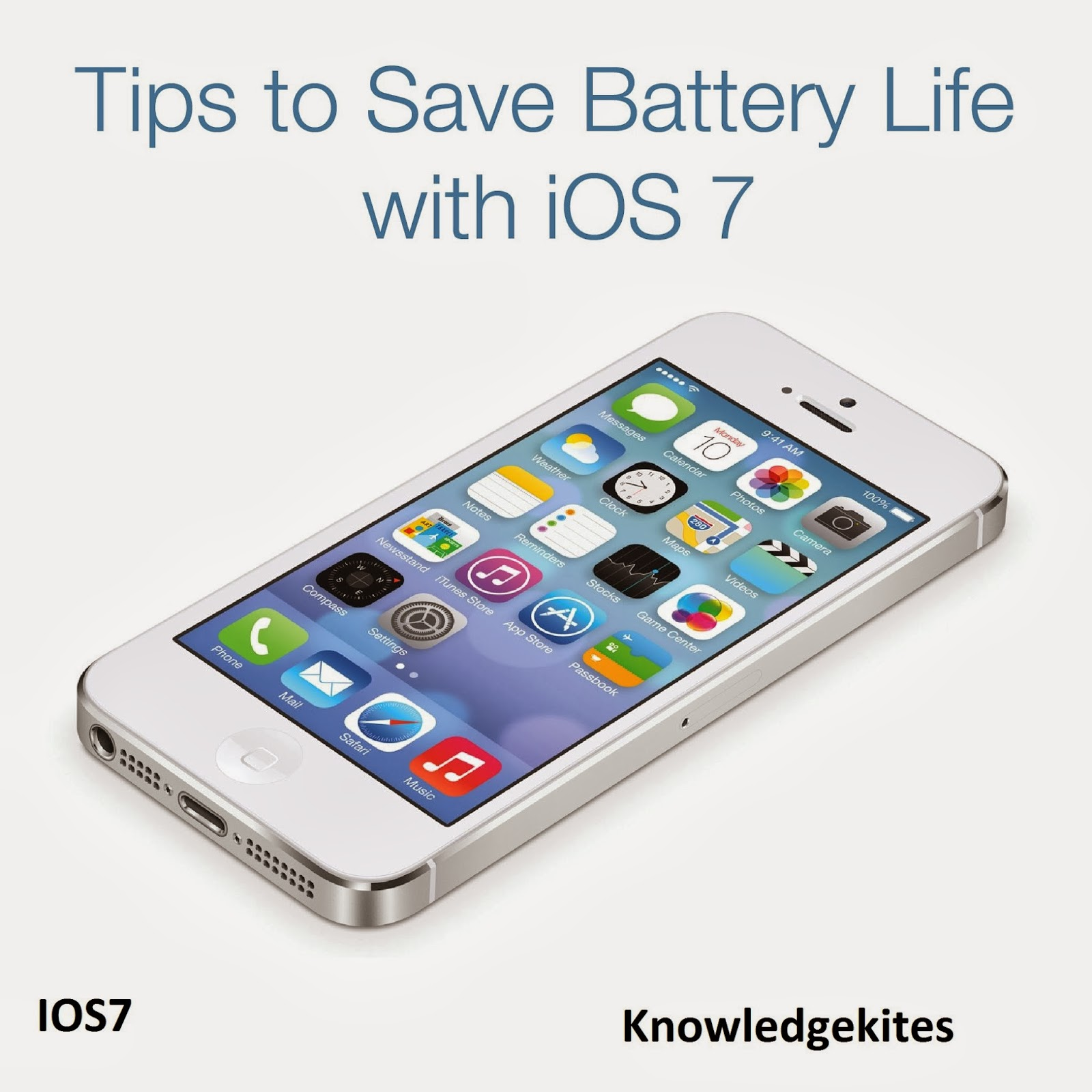 How to save battery on ipad 1