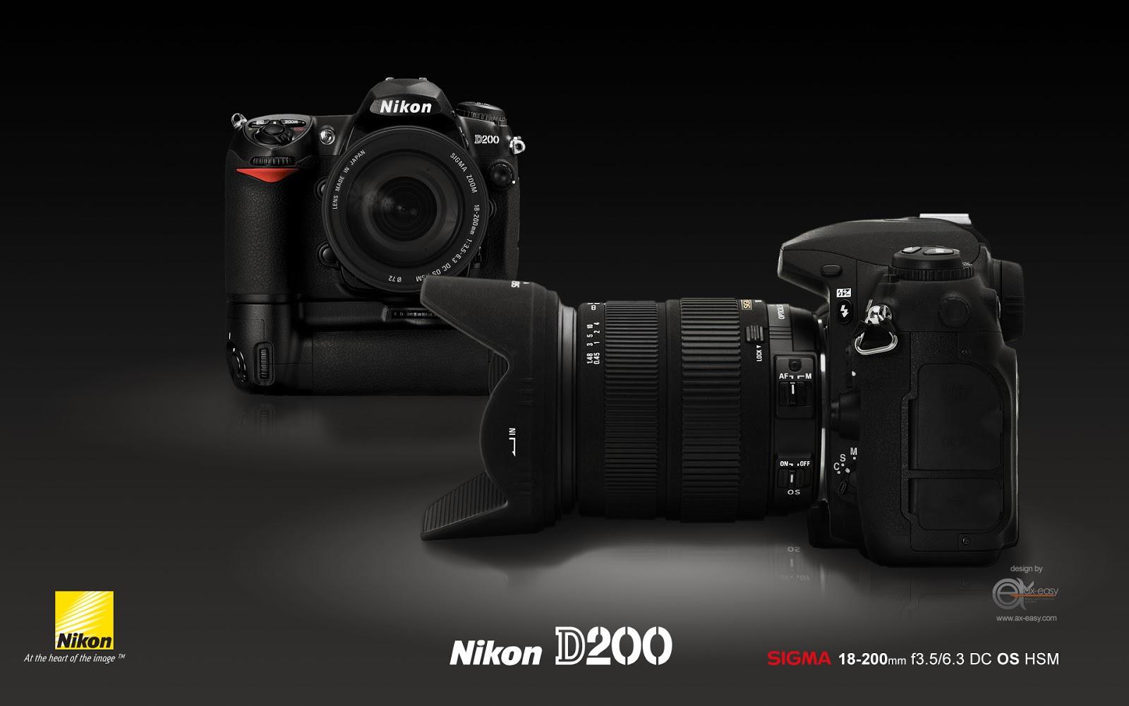 Nikon d200 wallpaper