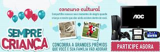 "Concurso Cultural ""Sempre Criança"""