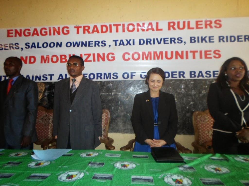 Traditional Rulers, Community Leaders Join US Embassy, HOFNA to Eradicate Gender Based Violence (PhotoNews6)