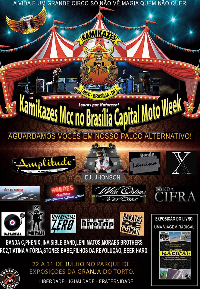 BARBARELLA B NO BRASILIA CAPITAL MOTO WEEK