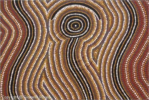 Grovigli di fili e perle arte aborigena australiana for Arte aborigena